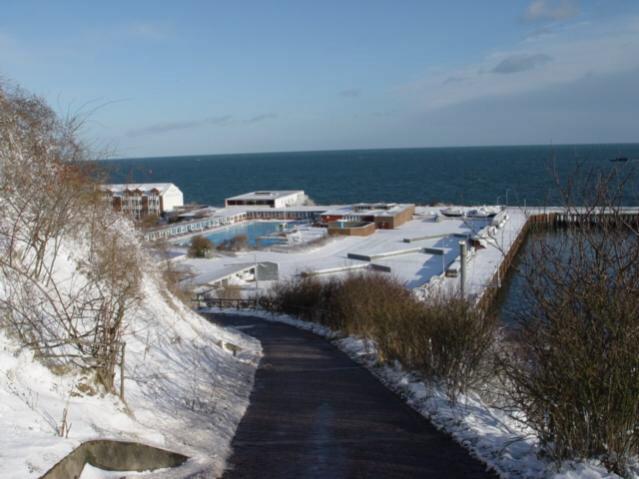 Helgoland im Schnee/Millstädter Weg
