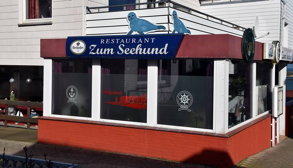Restaurant Seehund auf Helgoland.