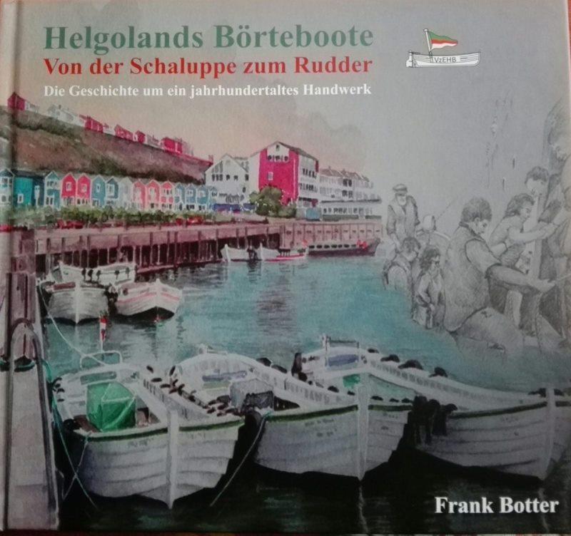 Der Buchumschlag des neuen Buchs Helgolands Börteboote