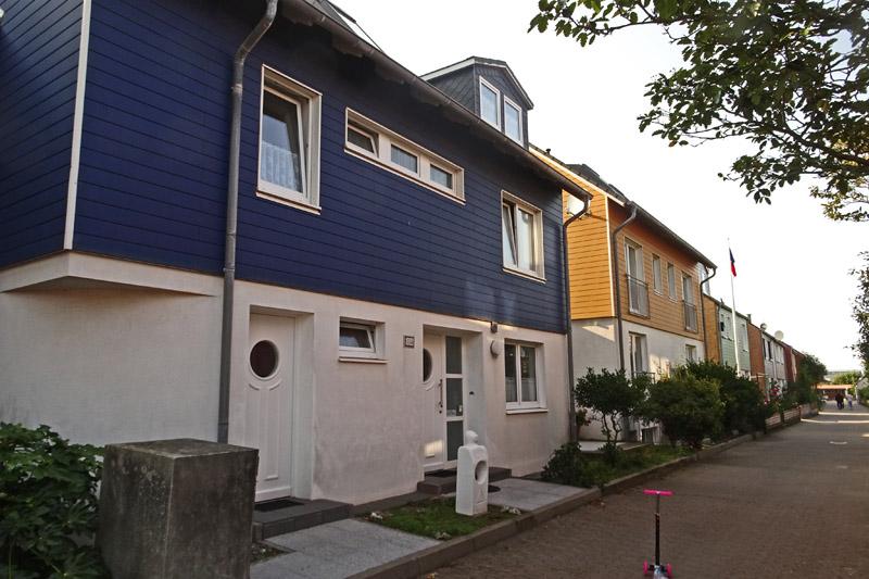 Haus Roter Flint in der Gouverneur-Maxse-Str. 635 auf Helgoland.