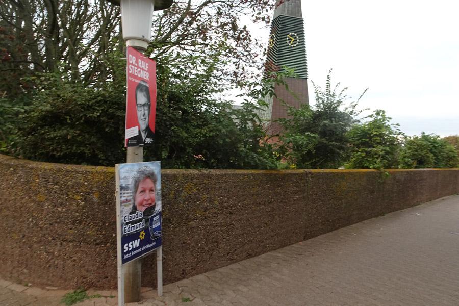 Wahlwerbung zur Bundestagswahl am 25.9.21 ab 18 Uhr auf Helgoland.